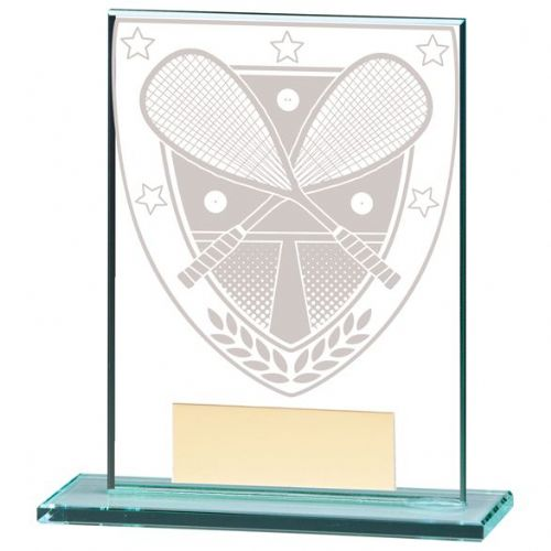 Millennium Squash Jade Glass Award 110mm
